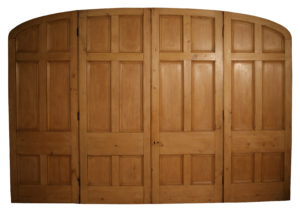 A Large Reclaimed Four Section Room Dividing Door