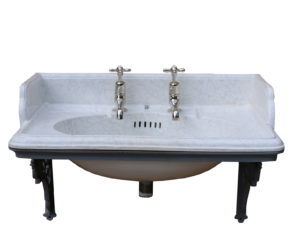 Antique Reclaimed Marbleised Sink / Basin