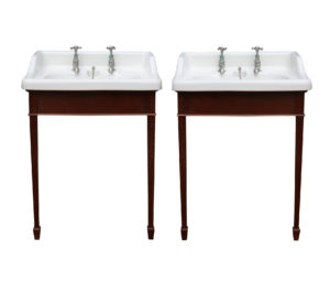 A Pair of Antique John Bolding 'Ondo' Basins or Sinks