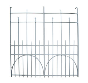 A Pair of Late Victorian Wrought Iron Entrance Gates