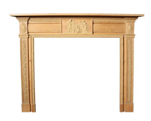 A George III Wooden Fire Surround
