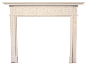 A Georgian Style Timber Fire Surround