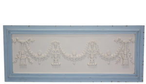 A Salvaged Decorative Antique Wall Panel