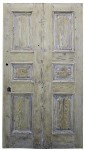 A Reclaimed Georgian Style Front Door