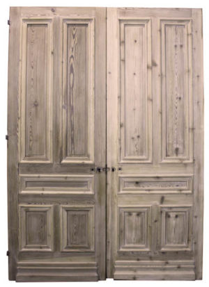 A Set of Tall Reclaimed Double Doors