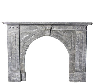 A Victorian Grey Marble Fire Surround