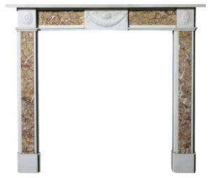 A 19th Century Neoclassical Style Fire Surround