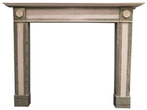 An English Regency Style Marble Fire Surround
