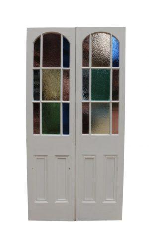 A Set of Glazed Double Doors