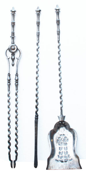 A Set of English Regency Period Fire Tools