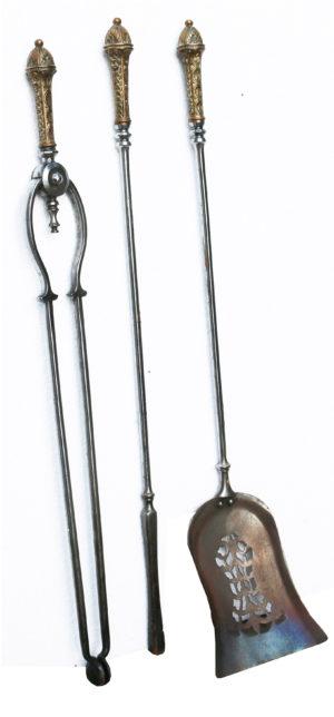 A Set of Antique Fire Tools