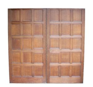 A Set of Reclaimed English Oak Double Doors