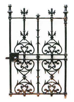 An Antique English Cast Iron Pedestrian Gate
