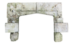 A 16th Century English Stone Chimneypiece