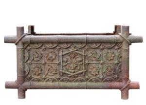 Antique Cast Iron Trough Planter