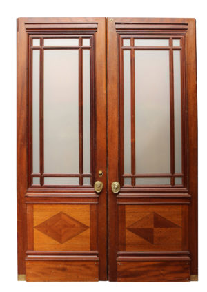 A Pair of 1930s English Glazed Doors
