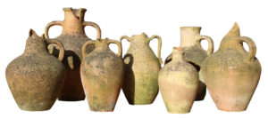 Collection of Seven Mediterranean Storage Jars