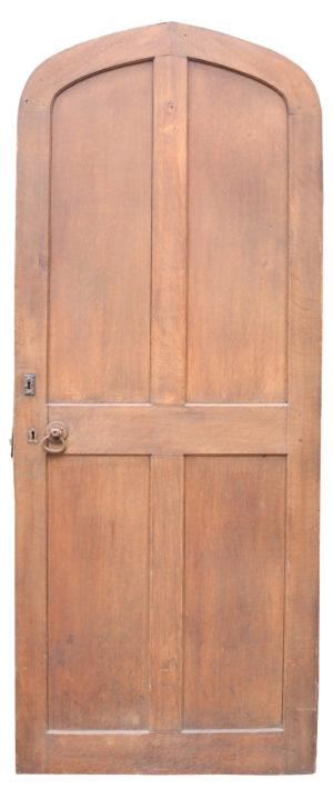 An Antique Arched Oak Door