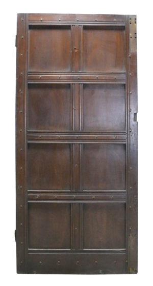 An Antique Oak Exterior Door