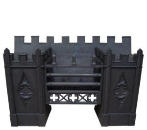 Victorian Gothic Hob Grate C. 1830