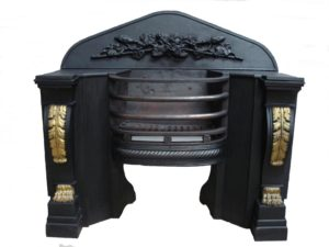 An Antique Greek Revival Hob Grate
