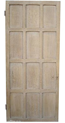 A Reclaimed Oak Internal Door