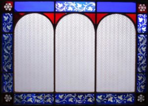A Victorian Glazed Window Panel