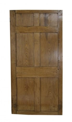 A Georgian Six Panel Oak Door