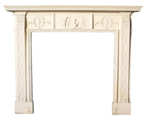 An English Regency Period Fire Surround