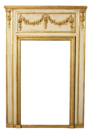 Late 19th Century Gilded Pine And Composition Mirror Frame