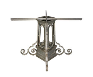 An Antique Wrought Iron Table Base