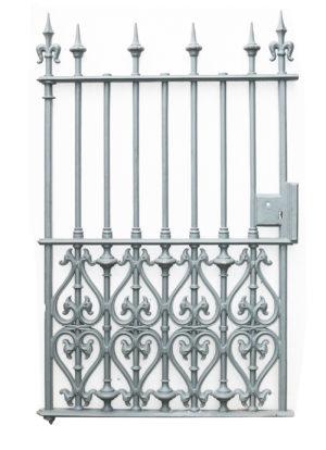 A Large Victorian Cast Iron Pedestrian Gate