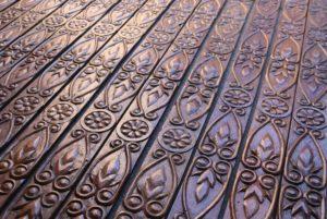 Seventeen Lengths of Antique Carved Oak Moulding