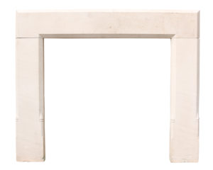 Antique Portland Stone Fireplace