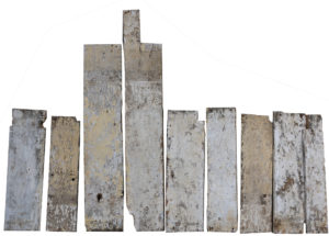 Antique Limewashed Elm Boards 3.3 m2