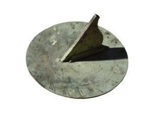 A Georgian Circular Bronze Sundial