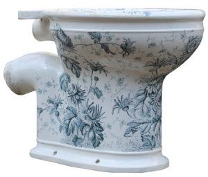 Antique ' Gatrix Laurel' Toilet