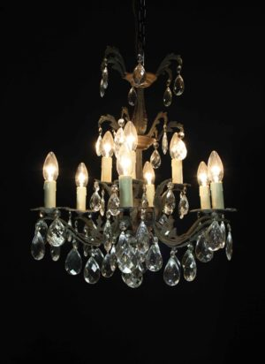 A Vintage Six Branch French Chandelier