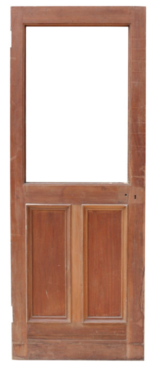 Reclaimed Early 20th Century Walnut Door