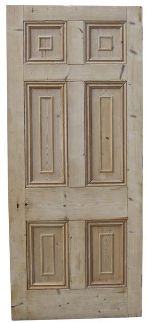 A Georgian Six Panel Interior Door