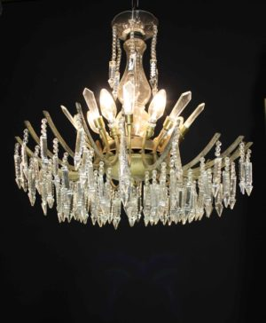 A Reclaimed 1930s Chandelier