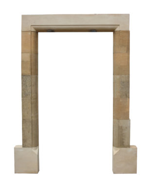 A Reclaimed Cotswold Limestone Door Frame