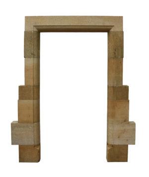A Cotswold Limestone Door Frame