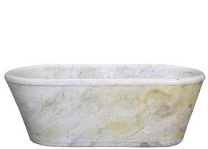 Antique Carrara Marble Bath