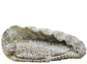 A Limestone Sculpture of Lazarus by Simon Verity