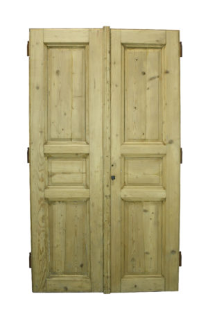 A Set of Reclaimed Double Doors