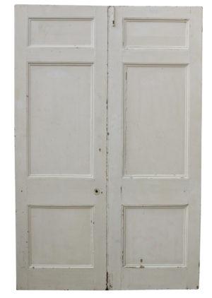 A Set of Reclaimed Victorian Room Dividing Doors