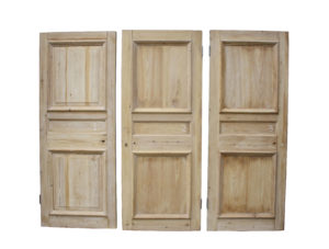 Set Of 9 Antique Stripped Pine Internal Doors