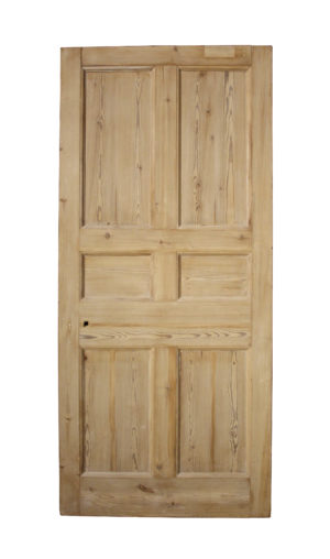 A Reclaimed Six Panel Exterior Door