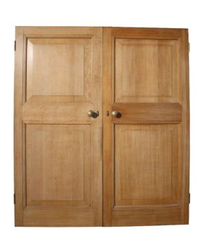A Set of Reclaimed Oak Double Doors